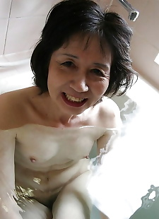 porn photos Asian milf Michiyo Fukumoto shows off, brunette , milf
